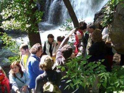 Valle del Jerte - Cascada de los Nogaledas; ruta a pie por madrid